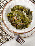 Southern Collard Greens Royalty Free Stock Photography