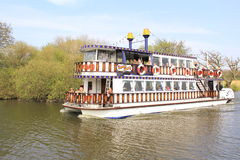 Southern Comfort Cruiser, Norfolk Broads Royalty Free Stock Photo