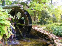 SOUTHERN COUNTRY WATERWHEEL Stock Photo
