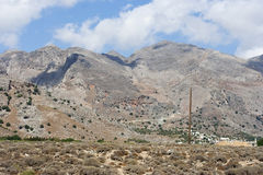 Southern Crete - RAW format Royalty Free Stock Photography