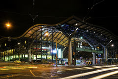 Southern cross rail station in central melbourne australia Stock Photography