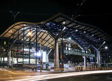Southern cross railway station in central melbourne australia at Stock Images