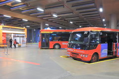 Southern Cross StationBus terminal Royalty Free Stock Photo
