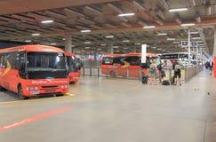 Southern Cross StationBus terminal Royalty Free Stock Photos