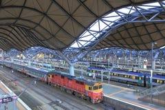 Southern Cross StationBus terminal Stock Photos