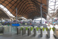 Southern Cross Train Station Melbourne Stock Photo