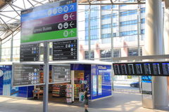 Southern Cross Train Station Melbourne Royalty Free Stock Images