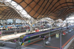 Southern Cross Train Station Melbourne Stock Image