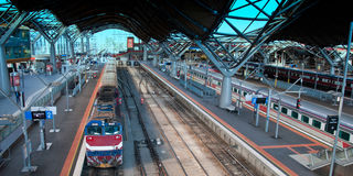 Southern Cross Train Station, Melbourne Royalty Free Stock Image