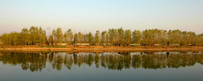 Southern Dongting Lake's serenity Stock Photo