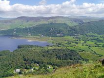 Southern end of Derwent Water, Lake District Stock Photos
