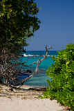 Southern end of Puako beach Royalty Free Stock Photo