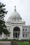 Southern entrance of Victoria Memorial hall stock photography