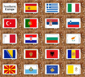 Southern europe countries Stock Photos