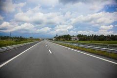 Southern Expressway Srilanka Stock Photo