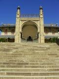 Southern facade of Vorontsov palace, Alupka, Crimea. Ukraine royalty free stock images