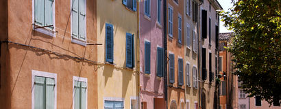 Southern facades Stock Images