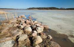 Southern Finland, early spring Royalty Free Stock Photography