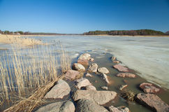 Southern Finland, early spring Stock Photo
