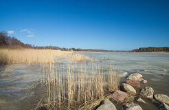 Southern Finland, early spring Stock Photos