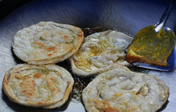 Southern flat bread. In local market Stock Photo