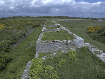 The Southern Fort ruins, Stock Images