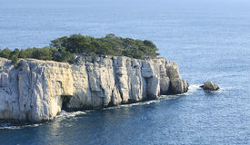 Southern France coast calanque Stock Photo