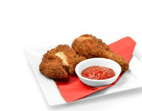Southern Fried Chicken 4 Royalty Free Stock Photos