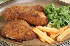 Southern fried chicken Stock Images