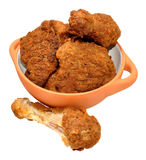 Southern Fried Chicken Portions Stock Photos