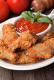 Southern fried chicken wings Royalty Free Stock Photos