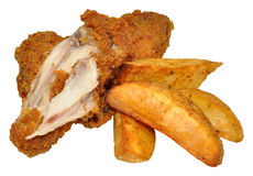 Southern Fried Chicken Wings Stock Images