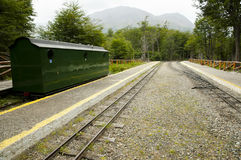 Southern Fuegian Heritage Railway - Tierra Del Fuego - Argentina. Southern Fuegian Heritage Railway in Tierra Del Fuego - Argentina Royalty Free Stock Image