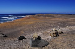 Southern Fuerteventura royalty free stock photography