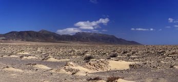 Southern Fuerteventura Stock Photography