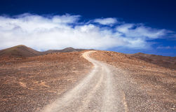 Southern Fuerteventura, Jandia Stock Photo