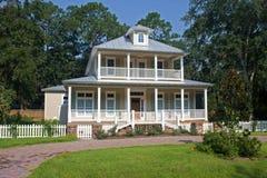 Southern Georgia Coastal Home Stock Images