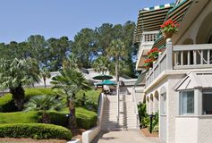 Southern Golf Resort Royalty Free Stock Images