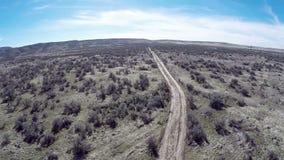Southern Idaho desert with sagebrush stock video