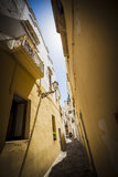 Southern Italy Old Town Stock Photo
