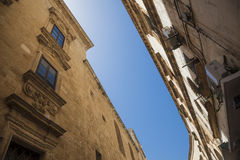 Southern Italy Old Town Stock Images
