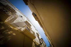 Southern Italy Old Town Stock Image