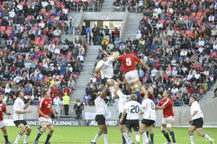 Southern kings vs British & Irish lions. The Southern kings lost 20 to 8 to the british lions.the match took place at Nelson Mandela bay staduim in Port Royalty Free Stock Photography