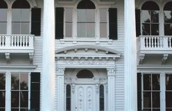 Southern Living. Beautifully restored mansion in southern North Carolina stock photography