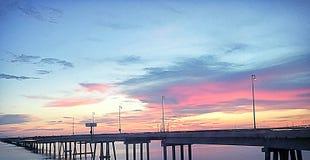Southern Louisiana Sunset Royalty Free Stock Photo