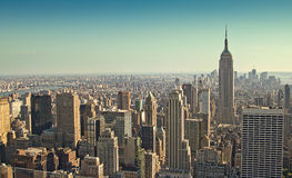 Southern Manhattan Royalty Free Stock Photo