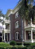 Southern mansion. Calhoun Mansion on Meeting Street in Charleston; built 1876 Royalty Free Stock Images