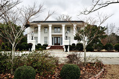 Southern Mansion Royalty Free Stock Photo