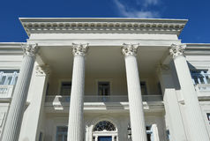 Antebellum Architecture Columns Royalty Free Stock Photo