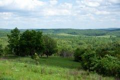Southern Missouri. A beautiful summer southern Missouri landscape stock photos